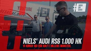 Vores biler: Niels' Audi RS6 med 1.000 hk. Vi måler 100-200 km/t. og kører 289 km/t