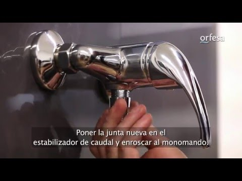 Estabilizador ducha ahorro con anti-retorno Orfesa