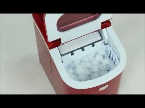 TecTake - Eiswürfelmaschine - Eisbereiter - Icemaker - Ice Cube Maker
