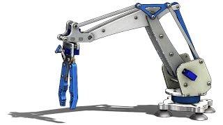 SolidWorks Tutorial # 310: Robotic Arm (layout Design, Mate Controller)
