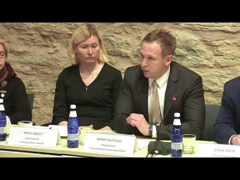 Rahvastikupoliitika töörühma koosolek 20.11.2017
