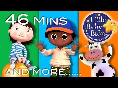 Little Baby Bum | Jumping and Dancing | Nursery Rhymes for Babies | Songs for Kids