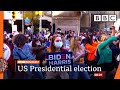 Biden supporters party as he leads in Pennsylvania 🇺🇸 US Election @BBC News live - BBC