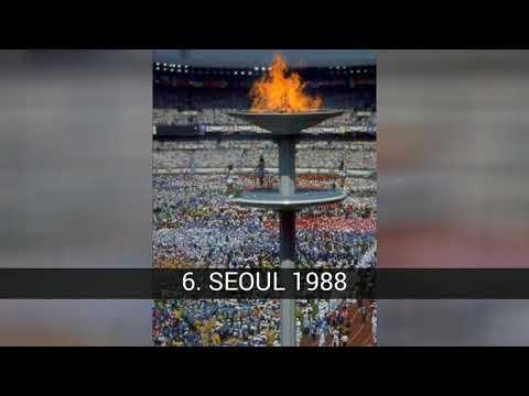 Pengapian terbaik dari kuali Olimpiade