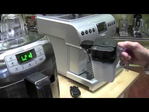 , Saeco Intelia Cappuccino Deluxe Automatic Espresso Machine, Stainless Steel, HD8771/93