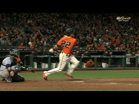 4/28/17: Arroyo's late homer leads Giants to 4-3 win