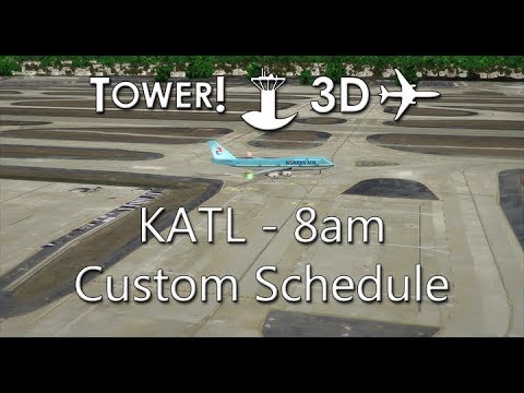 Tower!3D Pro - KATL - First Run & Issues - смотреть онлайн