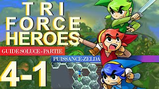 Soluce Tri Force Heroes : Niveau 4-1