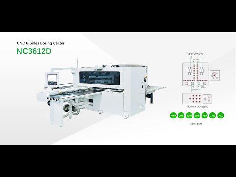 Nanxing Six Head Drilling Machine NCB612D