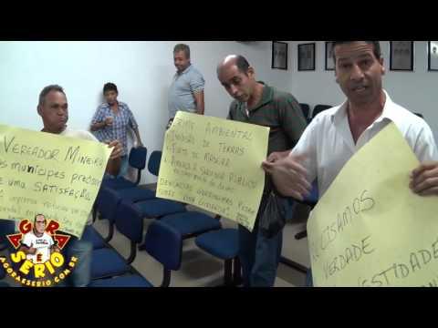 Manifestação do caso do Crime Ambiental do Sangrilla e Bate Boca com Assessor
