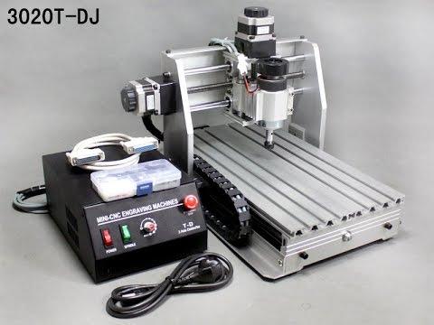 CNC setting in Mach3,CNC 3020 - 3 axis desktop version - in HD