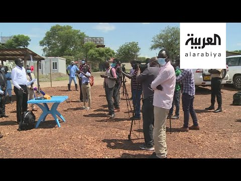 العرب اليوم - شاهد: مبادرة إعلامية في جنوب السودان لمكافحة وباء