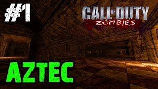 CoD Custom Zombies - Fan Favorites Map #1: Aztec | The Largest Map EVER! (Part 1)