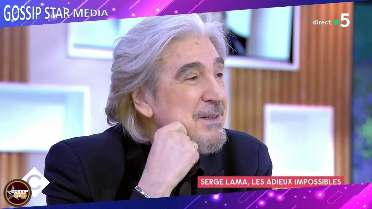 """""""On ne retiendra rien de moi"""", confie Serge Lama, à coeur ouvert"""