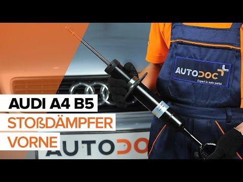 DIY Wie AUDI A4 B5 Stoßdämpfer vorne wechseln | AUTODOC