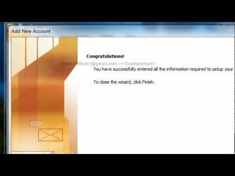 comment installer gmail sur outlook