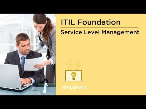Service Level Management | ITIL V3 Foundation Training | Simplilearn