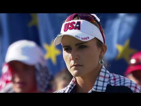 Lexi Thompson vs. Anna Nordqvist Solheim Cup 2017 Screenshot 2
