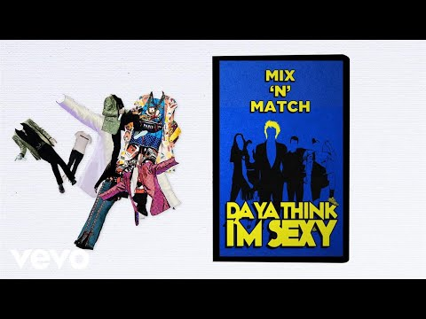 Da Ya Think I'm Sexy? Lyric Video [Feat. DNCE]