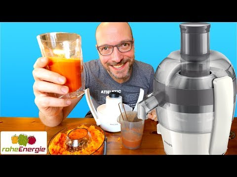ENTSAFTER TEST | Philips HR1832 Einsteiger Juicer