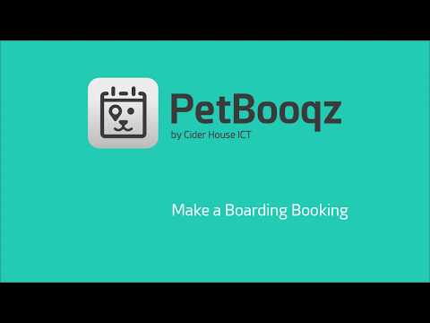 Add a booking in the boarding chart