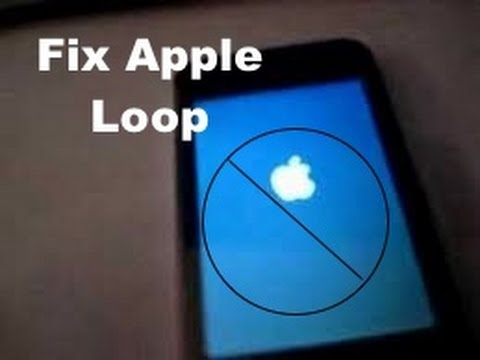 BRICKED IPHONE [APPLE LOOP] **SOLUTION**: TWO MINUTE FIX NO RESTORE NEEDED [ALL DEVICES & FIRMWARE]