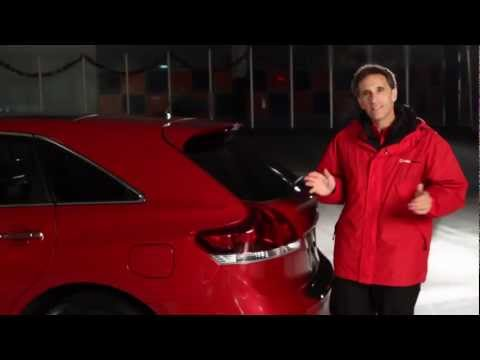 2013 Toyota Venza All-Wheel Drive Traction Test—AMCI Testing Certified