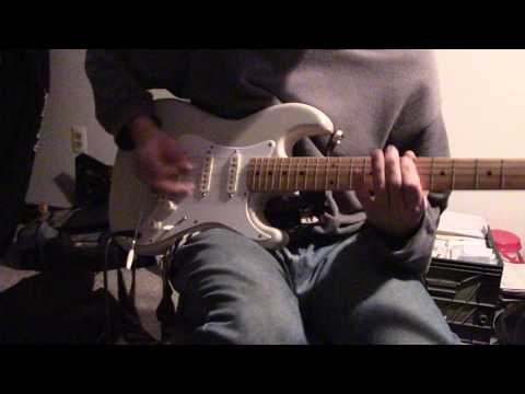 Here's a video I did back in 2016. Improvised guitar lick on the spot.