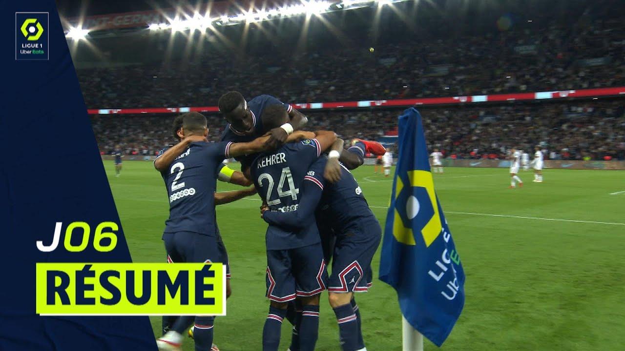Résumé 6ème journée - Ligue 1 Uber Eats/2021/2022