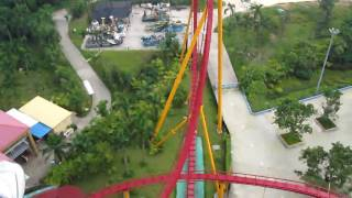 Video : China : Fun rides at ChimeLong Amusement Park, GuangZhou 广州