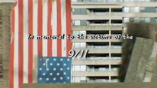 In memorial to the victims of the 9/11 - Blu