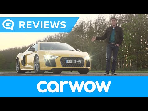Audi R8 V10 Plus Supercar 2017 review | Mat Watson Reviews
