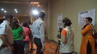 2017 GPDRR Cancun - VFL Event - Stand Up Around Posters