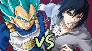 Vegeta vs Sasuke. Duelos Legendarios de Rap de la Historia Season 3   Ft. JHF
