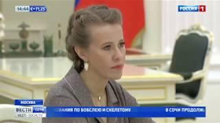Собчак попросила Путина помиловать Парпулова