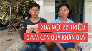 Khương Dừa ứng tiền giúp anh em mồ côi làm hồ trả dứt nợ 20 triệu