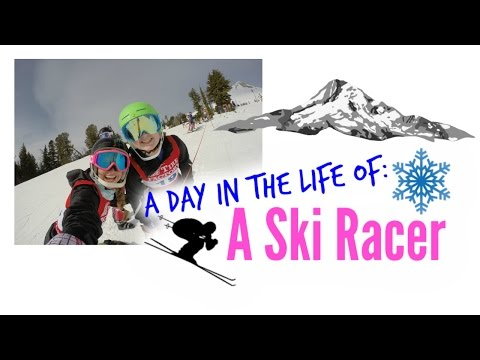 A Day in the Life of a Ski Racer