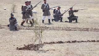 Крымская война 1854 г , Альминское сражение реконструкция боя
