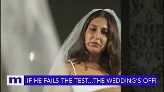 If he fails the test...The wedding's off! | The Maury Show