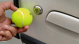 OPENING CAR WITH BALL? || WITHOUT KEYS HOW TO OPEN CAR DOOR