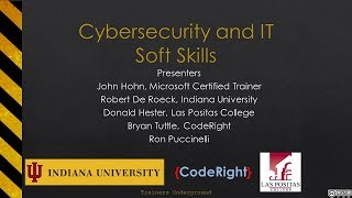 Cybersecurity & IT Soft Skills