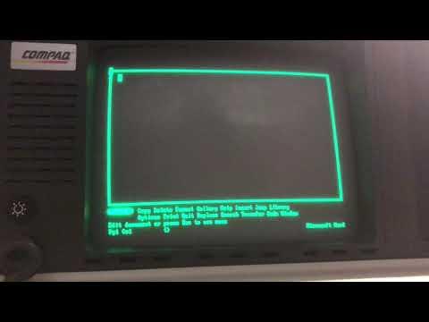 "Compaq Portable - My ""ultimate"" XT-class Luggable"