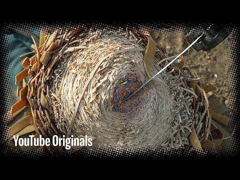 Slicing Rubber Band Ball - Bonus Clip