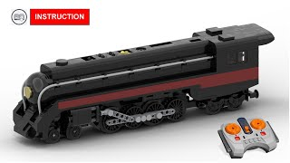 LEGO Train instruction - Norfolk and Western J-Class 611 Steam - MOC