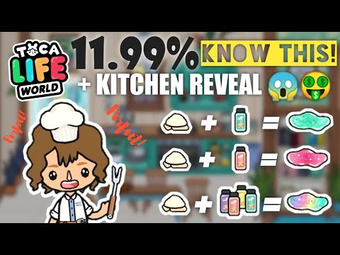 Cooking Perfect Slime Toca Life Skit