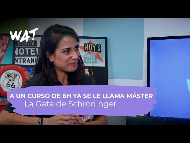 Los medios de ciencia han tardado en aceptar a los youtubers Entrevista La Gata de Schrödinger