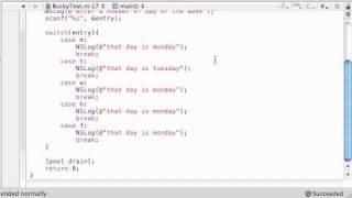 Objective C Programming Tutorial - 47 - Enum Program