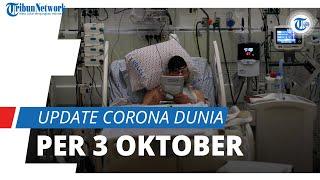 Update Corona Dunia per 3 Oktober 2021: Total 235,3 Juta Terinfeksi, Indonesia Turun ke Posisi-14