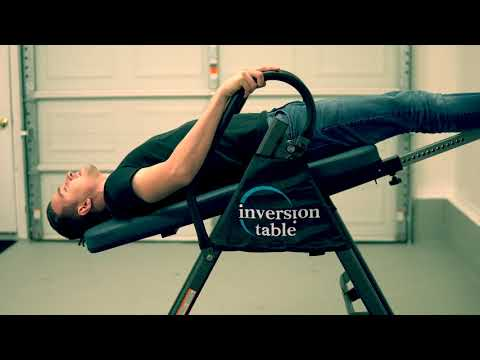 GRTW Review #1  IRONMAN Gravity 4000 Inversion Table