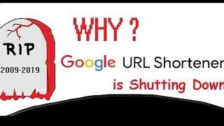 Why google shut down goo.gl URL shortner ?